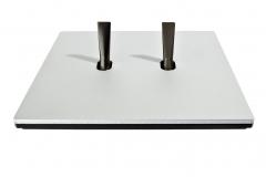 Font 5.1 Alu mat brossé levier chrome mat