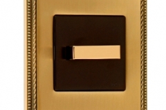 Fontini Venezia métal laiton doré manette rotative