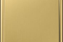 JUNG LS 990 Laiton doré