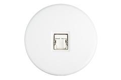 Modelec Iris Chargeur Blanc Satin (351)