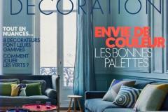 Heure Industrielle citée sur les pages d'ELLE decoration en avril 2017