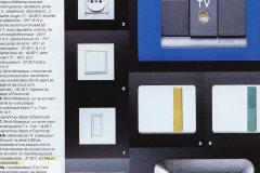 Heure Industrielle citée sur les pages d'ELLE decoration en octobre/novembre 1989