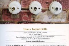 Heure Industrielle citée sur les pages du livre Paris Déco 110 adresses stylées pour la maison en 2016 par Béatrice MINARD