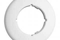 Plaque ronde THPG Duroplast blanc