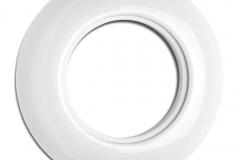 Plaque ronde porcelaine THPG