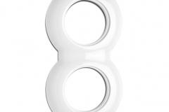 Plaque double porcelaine THPG