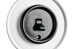 Interrupteur à bascule verre THPG  bakélite