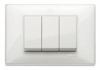 Vimar Plana 3 modules Blanc